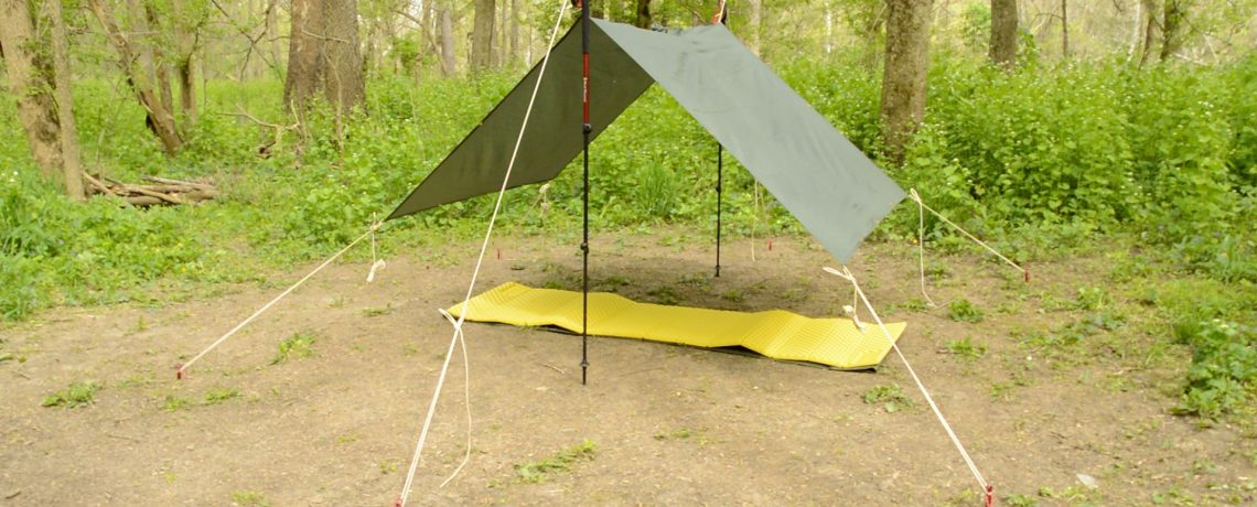 Poncho Shelter: 4 Fly Configurations